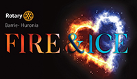 Rotary FIRE ICE logo icon