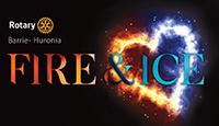 Rotary FIRE ICE logo icon